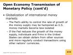 open economy transmission of monetary policy cont d3