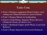tasks cont