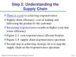 step 2 understanding the supply chain1