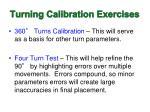 turning calibration exercises