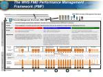 the whs fmd performance management framework pmf