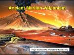 ancient martian volcanism
