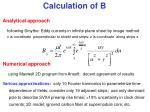 calculation of b