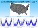 central florida historical el nino observed p