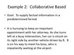 example 2 collaborative based