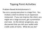 tipping point activities