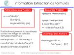 information extraction as formulas7