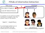 pitfalls of information extraction2