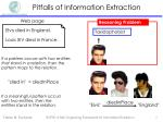pitfalls of information extraction3