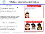 pitfalls of information extraction4