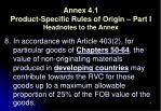 annex 4 1 product specific rules of origin part i headnotes to the annex
