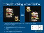 example solving for translation3
