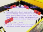 sensor walls avoidance option