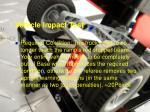 vehicle impact test