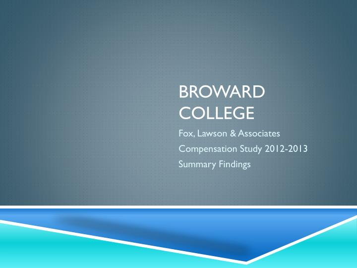 broward college n.