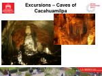 excursions caves of cacahuamilpa