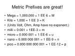 metric prefixes are great