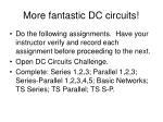 more fantastic dc circuits