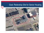 goal redevelop site for senior housing