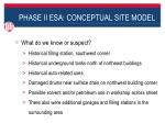 phase ii esa conceptual site model2
