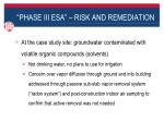 phase iii esa risk and remediation7