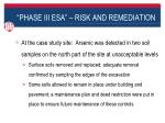 phase iii esa risk and remediation8