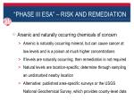 phase iii esa risk and remediation9
