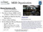 mer organization