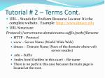 tutorial 2 terms cont