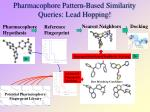 pharmacophore pattern based similarity queries lead hopping