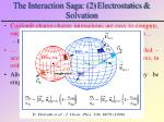 the interaction saga 2 electrostatics solvation