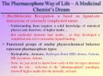 the pharmacophore way of life a medicinal chemist s dream