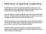 definition of spiritual leadership3