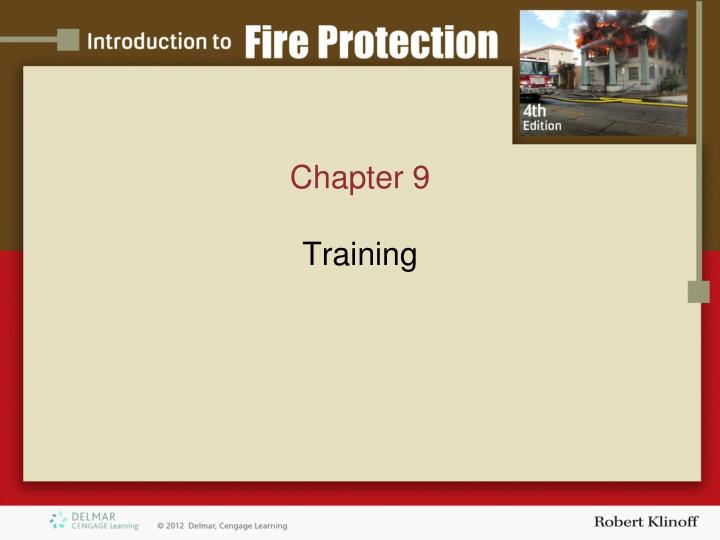 chapter 9 training n.