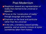 post modernism1
