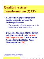 qualitative asset transformation qat