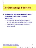 the brokerage function1