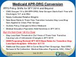medicaid apr drg conversion1