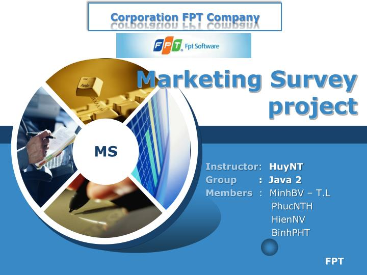 marketing survey project n.