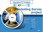 marketing survey project