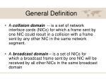 general definition