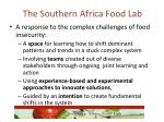 the southern africa food lab