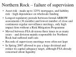 northern rock failure of supervision