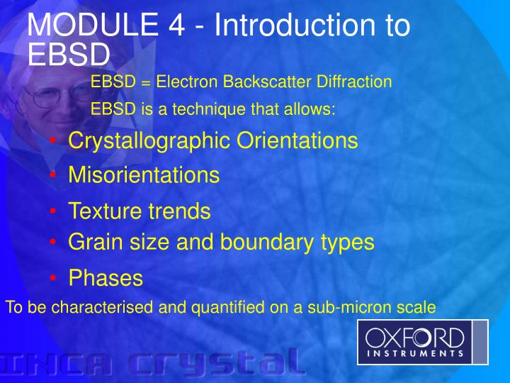 module 4 introduction to ebsd n.