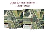 design recommendations tharpe street