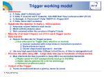 trigger working model