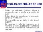reglas generales de uso1