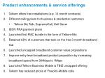 product enhancements service offerings