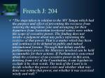 french j 204