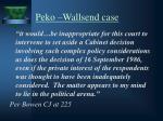 peko wallsend case1